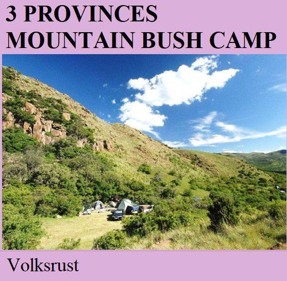 3 Provinces Mountain Bush Camp - Volksrust