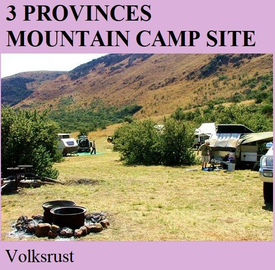 3 Provinces Mountain Camp Site - Volksrust