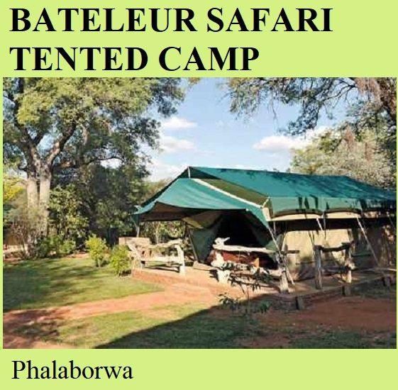 Bateleur Safari Tented Camp - Phalaborwa