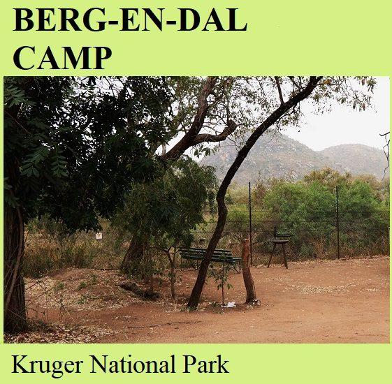 Berg-en-Dal Camp - Kruger National Park