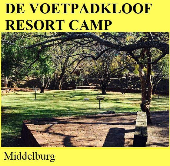 De Voetpadkloof Resort Camp - Middelburg