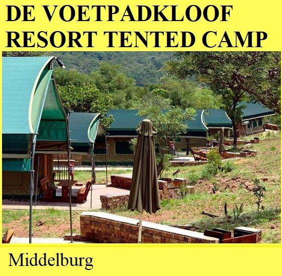 Die Voetpadkloof Resort Tented Camp - Middelburg
