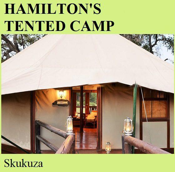 Hamiltons Tented Camp - Skukuza