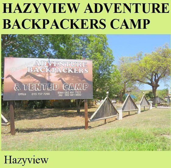 Hazyview Adventure Backpackers Camp - Hazyview