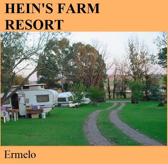 Heins Farm Resort - Ermelo