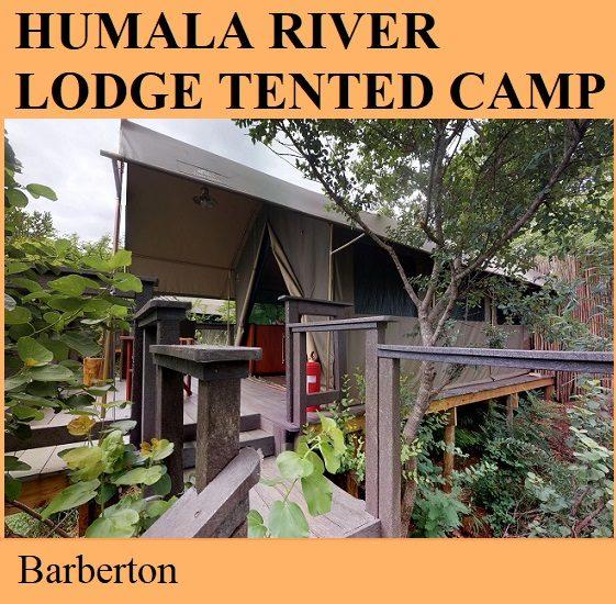 Humala River Lodge Tented Camp - Barberton