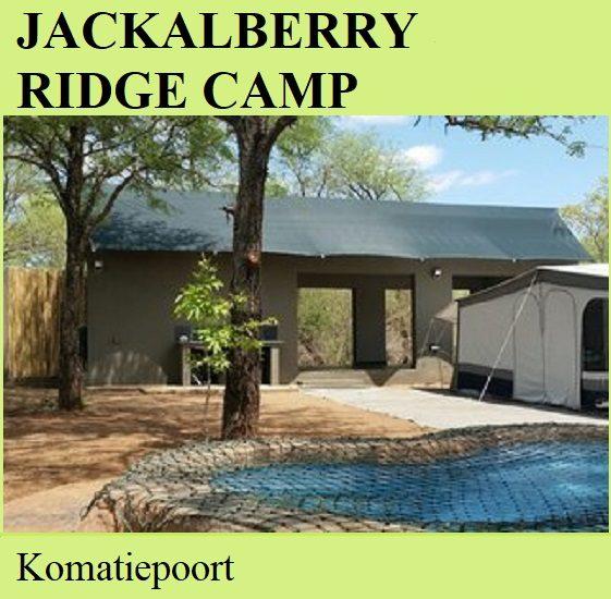 Jackalberry Ridge Camp - Komatiepoort