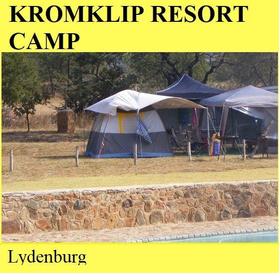 Kromklip Resort Camp - Lydenburg