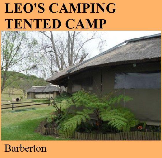 Leos Camping Tented Camp - Barberton