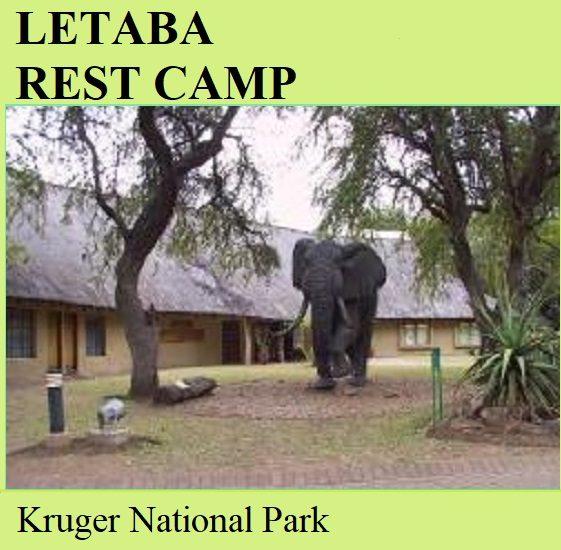 Letaba Rest Camp - Kruger National Park