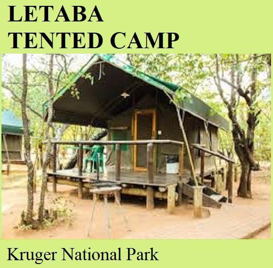 Letaba Tented Camp - Kruger National Park