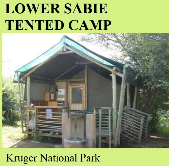 Lower Sabie Tented Camp - Kruger National Park
