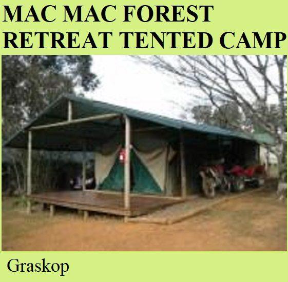 Mac Mac Forest Retreat Tented Camp - Graskop