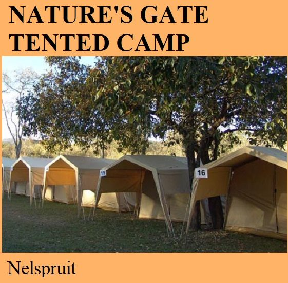 Natures Gate Tented Camp - Nelspruit