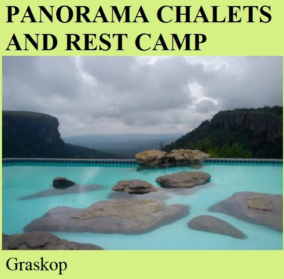 Panorama Chalets and Rest Camp - Graskop