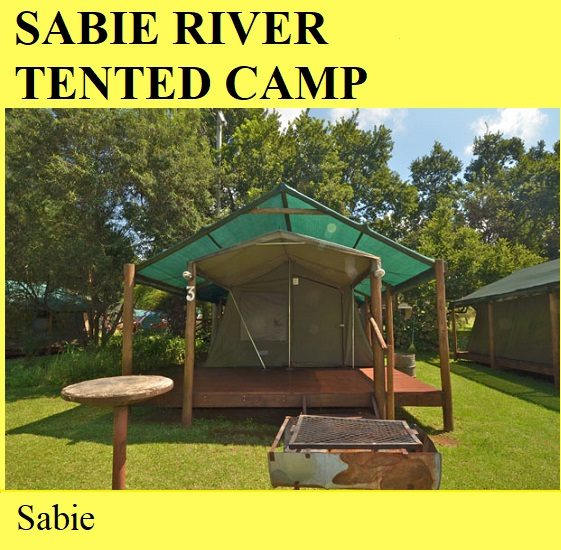Sabie River Tented Camp - Sabie