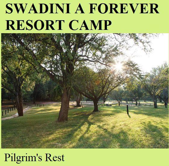 Swadini A Forever Resort Camp - Pilgrims Rest
