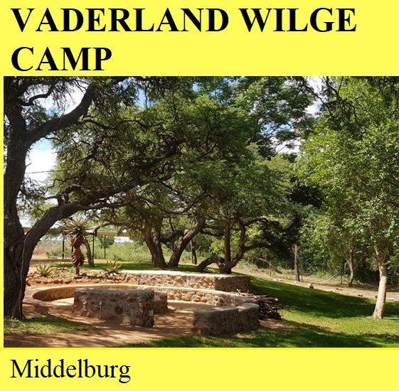 Vaderland Wilge Camp - Middelburg