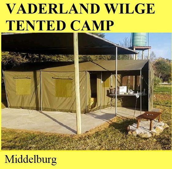 Vaderland Wilge Tented Camp - Middelburg