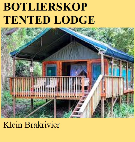 Botlierskop Tented Camp - Klein Brakrivier