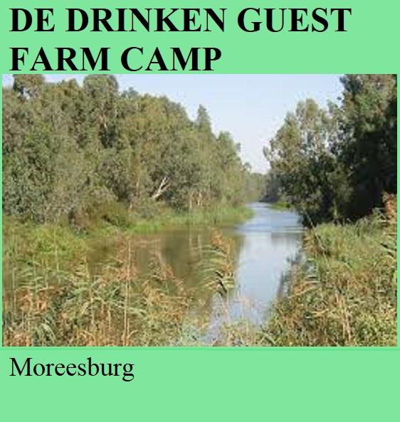 De Drinken Farm Camp - Moreesburg