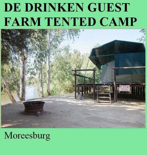 De Drinken Farm Tented Camp - Moreesburg