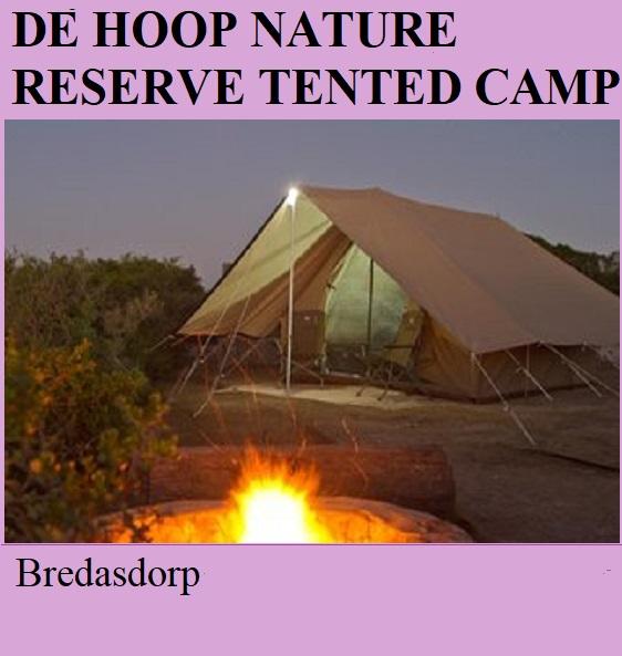 De Hoop Nature Reserve Tented Camp - Bredasdorp