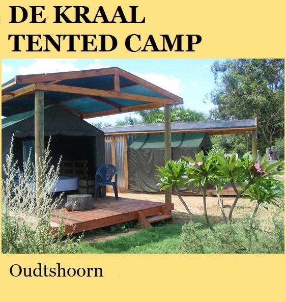De Kraal Tented Camp - Oudtshoorn