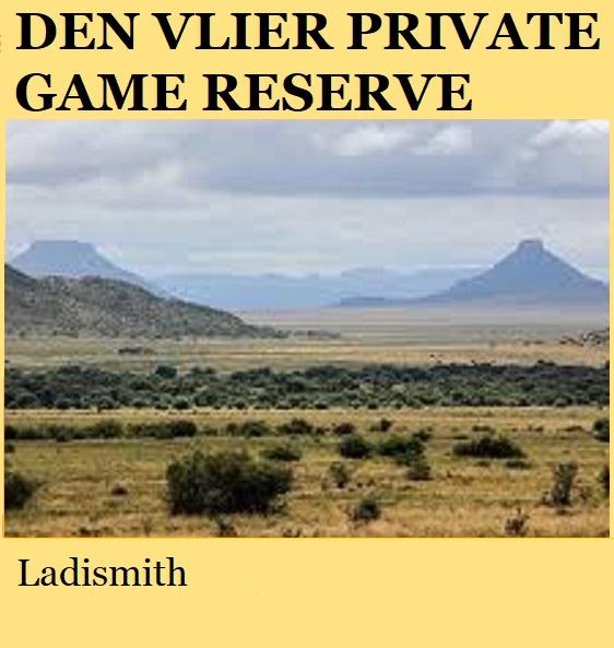 Den Vlier Private Game Reserve - Ladismith