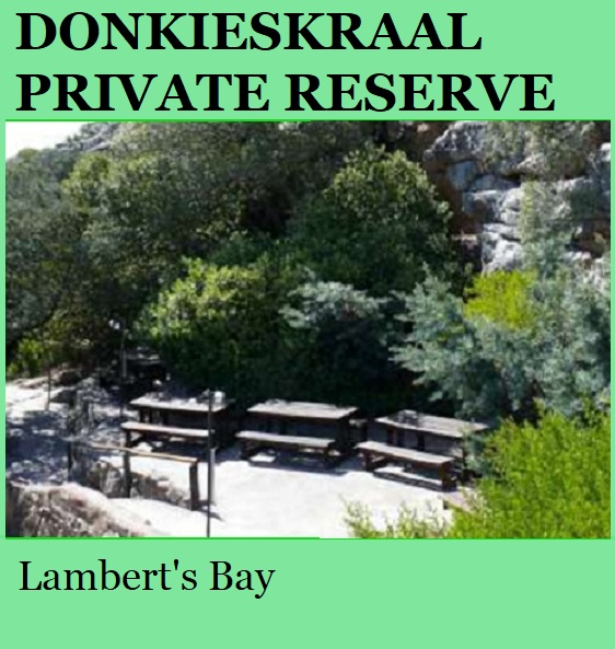 Donkieskraal Private Reserve - Lamberts Bay