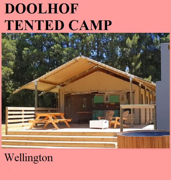 Doolhof Tented Camp - Wellington