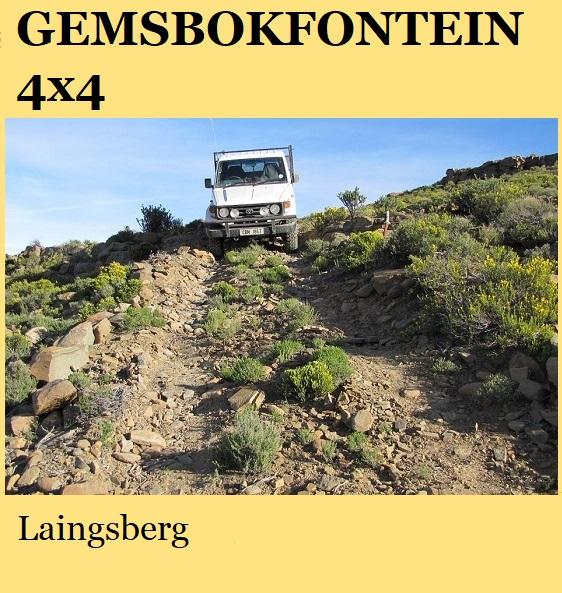 Gemsbokfontein 4x4 - Laingsberg