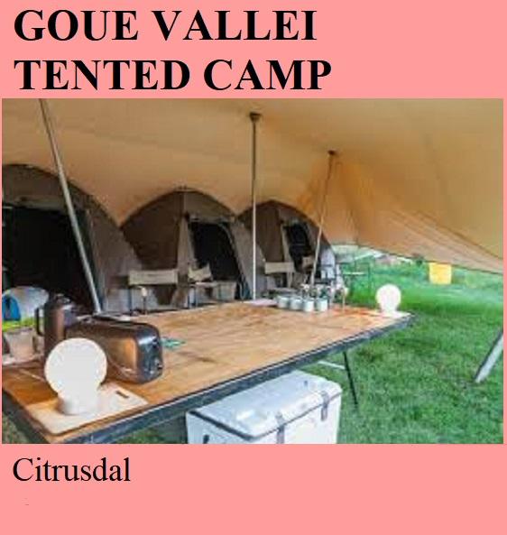 Goue Vallei Tented Camp - Citrusdal