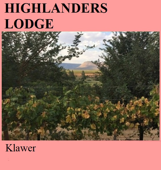 Highlanders Lodge - Klawer