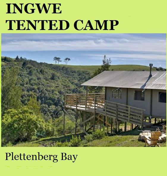 Ingwe Tented Camp - Plettenberg Bay