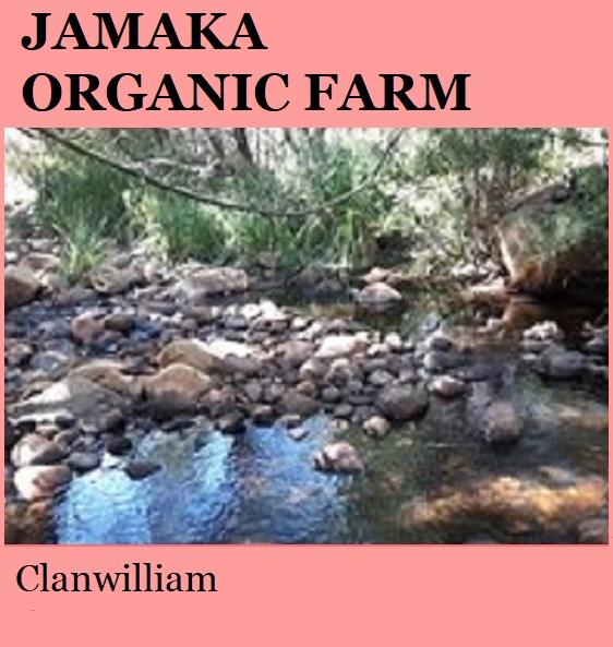 Jamaka Organic Farm - Clanwilliam