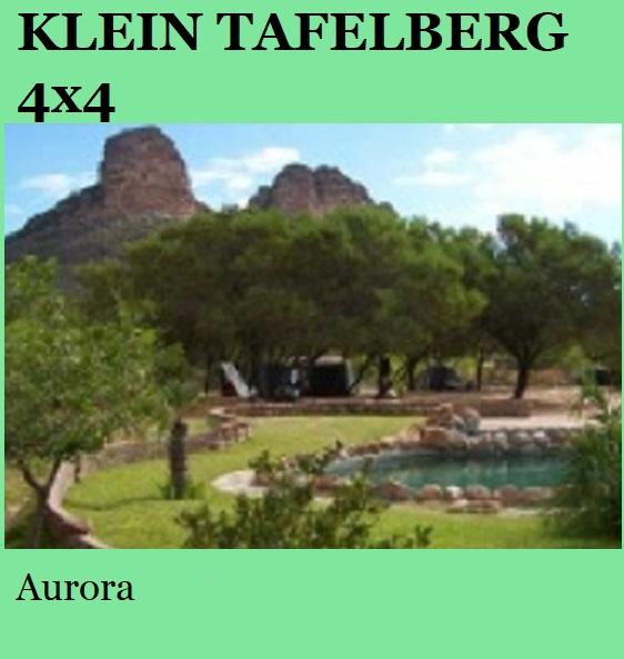 Klein Tafelberg 4x4 - Aurora