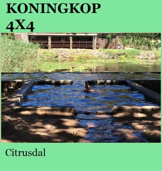 Koningkop 4x4 - Citrusdal
