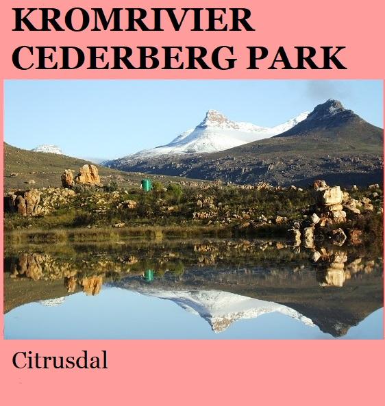 Kromrivier Cederberg Park - Citrusdal
