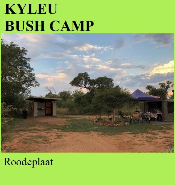 Kyleu Bush Camp - Hammanskraal