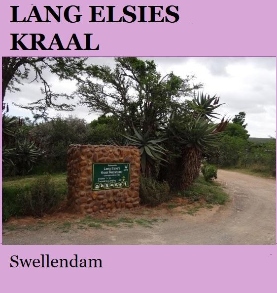 Lang Elsies Kraal - Swellendam