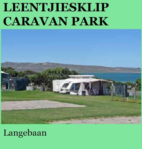 Leentjiesklip Bay Caravan Park - Langebaan