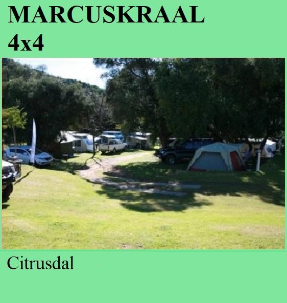 Marcuskraal 4x4 - Citrusdal