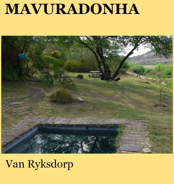 Mavuradonha - Van Ryksdorp
