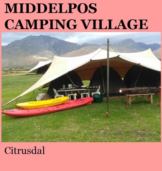 Middelpos Camping Village - Citrusdal