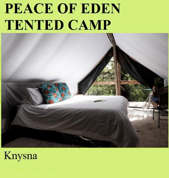 Peace of Eden Tented Camp - Knysna