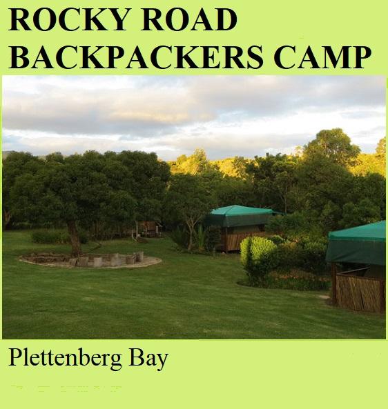 Rocky Road Backpackers Camp - Plettenberg Bay