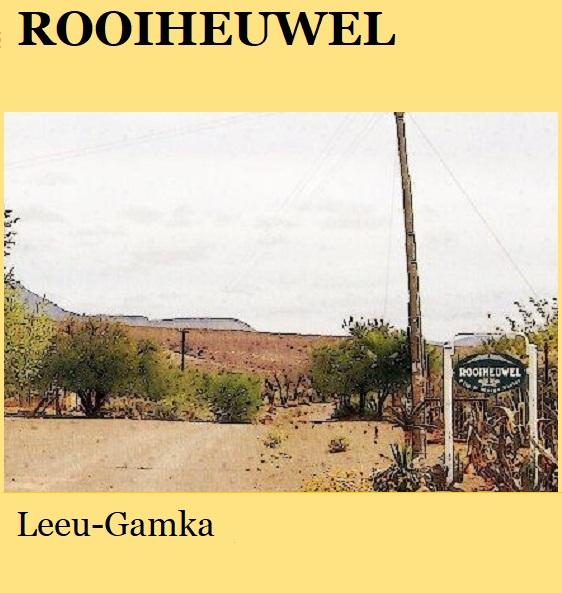 Rooiheuwel - Leeu Gamka