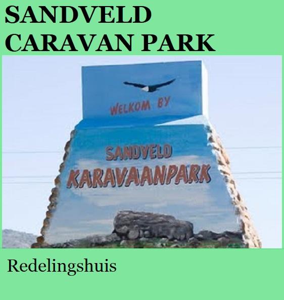 Sandveld Caravan Park - Redelingshuis