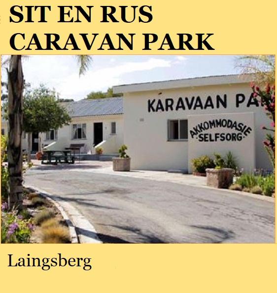 Sit en Rus Caravan Park - Laingsberg